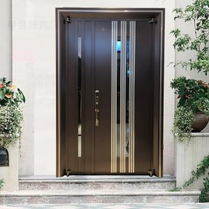 External domestic decorative american safety steel security door for home