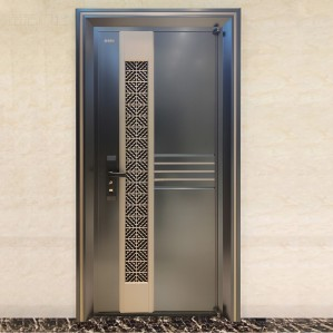 New high quality home modern steel security entry doors residential