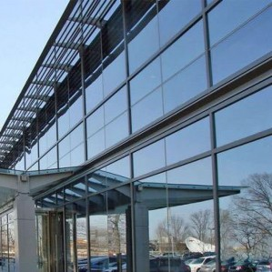 Structurally glazed curtain wall window systems building facade solutions