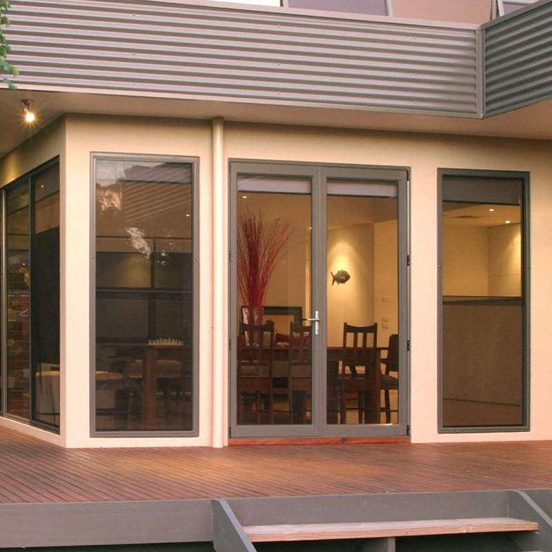 hinged french doors exterior