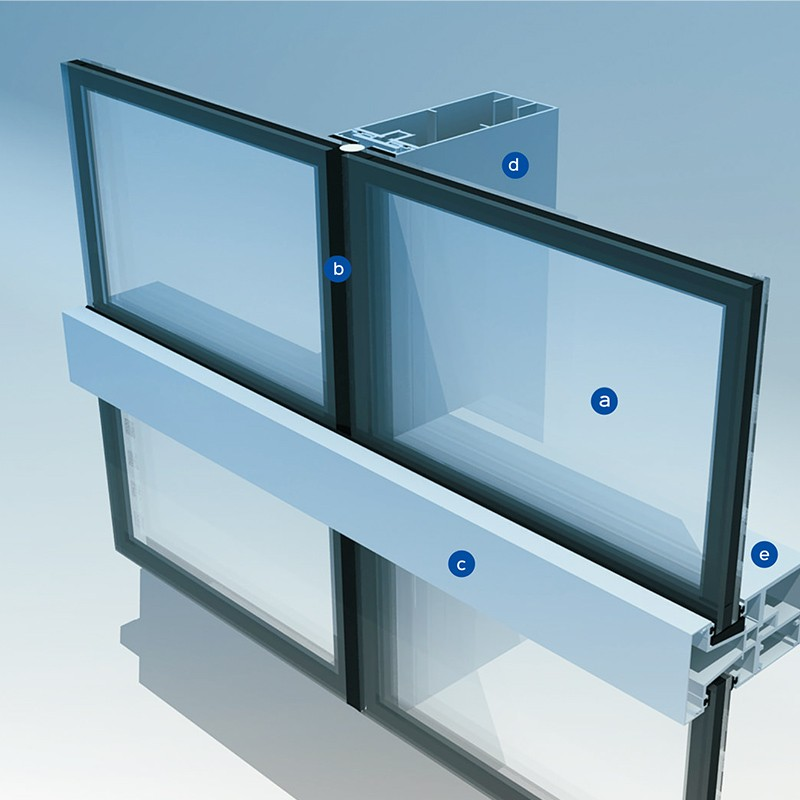 insulated curtain wall