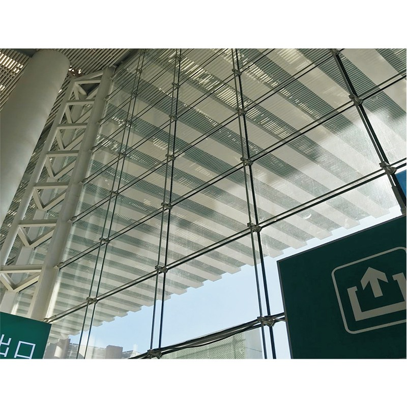 point supported curtain wall